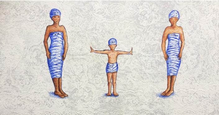 3 Bandagefigurer